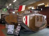 British Mark V. It saw action at the Battle of Amiens in August 1918.