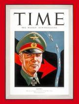 Rommel on the cover of Time Magazine- July 13, 1942.