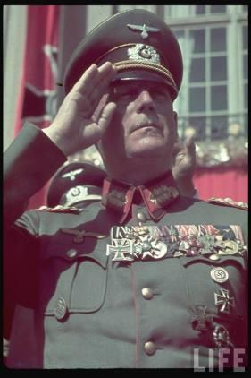 Wilhelm Keitel on Reichs Veterans Day at Kassel, Germany, 4 June 1939.