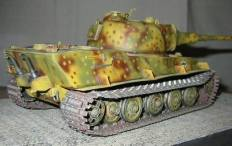 Model of Panzer VII Löwe which was never built.