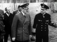 Grand Admiral Erich Raeder with Hitler.