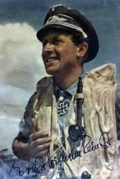 Ernst-Wilhelm Reinert wearing life-vest.