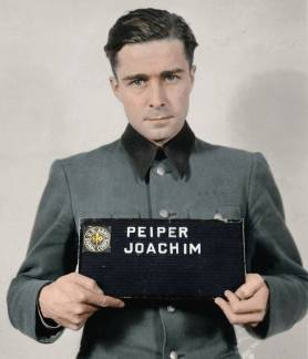 Joachim Peiper after his arrest.