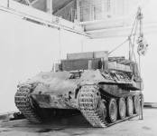 Bergepanther (front view).