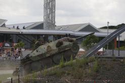 Hetzer at Tankfest 2014 at the The Bovington Tank Museum – England.