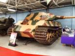 Tiger 2 at the The Bovington Tank Museum - England.
