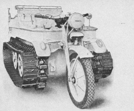 Sd.Kfz. 2 - Kettenkrad.