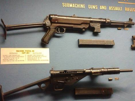 MP 40 - Ditsong National Museum of Military History- Johannesburg, South Africa