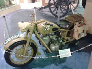 Tropical BMW Motorcycle - Ditsong National Museum of Military History- Johannesburg, South Africa