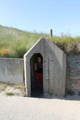 Modern Day - Atlantic Wall - Oostende, Belgium.