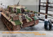 2014 Calendar from the Deutsches Panzermuseum - German Tank Museum.