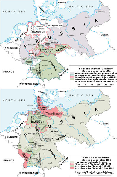Zollverein and German Unification.