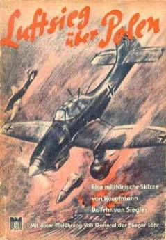 "Deutsche Luffwaffe Poland Poster - ""Air victory over Poland"""