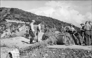 Pantherturm fortification in Italy, mid 1944.