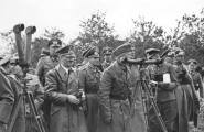 Rommel with Hitler, von Reichenau and Bormann in Poland (September 1939).