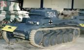 PzKpfw II Ausf. C at the Musée des Blindés.