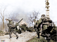 Soldaten on the move.
