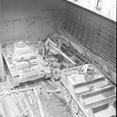 Captured equipment after the war.