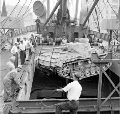 Captured Panzer III after the war.