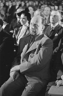 SED First Secretary, Walter Ulbricht, 1950.