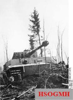 """Russia, Panzer VI """"Tiger I"""", 1943."""
