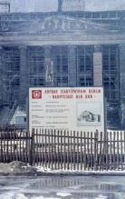 "Poster with inscription ""Berlin - Hauptstadt der DDR"", 1967."
