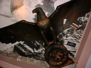 Bronze eagle from the German Reichs Chancellery.
