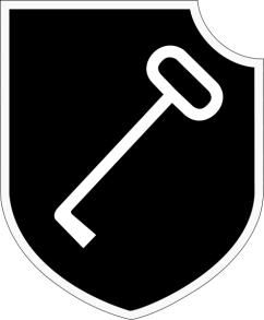 1st SS Panzer Division Leibstandarte SS Adolf Hitler Unit insignia.