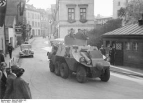 ADGZ in the Sudetenland, 1938.