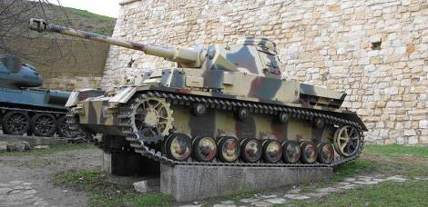 Pzkw-IV in Belgrade Military Museum, Serbia.