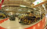 Tiger 104 belonged to SS Panzer-Abteilung 101 and was commanded by SS-Oberscharfuhrer Sepp Franzl.It suffered transmission failure and was abandoned by its crew. The Tiger 2 is now at the Tank Museum, Bovington, England.