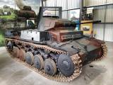 Panzer 2 at the The Bovington Tank Museum - England.