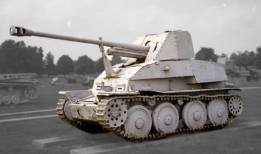 Marder III (Sd.Kfz.139) on display at the US Army Ordnance Museum in Aberdeen.