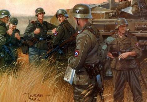 Russian Liberation Army forces.