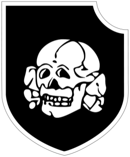 Insignia of the 3rd SS Panzer Division Totenkopf.