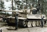 Tiger 1 loading ammunition.