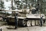 Tiger 1 loading ammunition.
