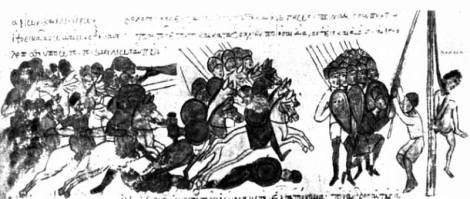 Holy Roman emperor Otto is having leader Bulcsú executed, 955.