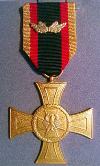 Honor Cross of the Bundeswehr for Bravery.