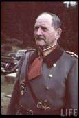 Reichsstatthalter und Charakter als Generaloberst Franz Ritter von Epp in Sudetenland.