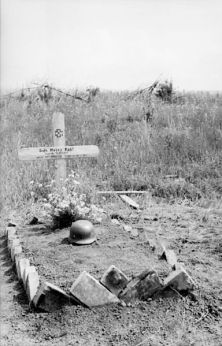 Grave on the Eastern Front.