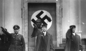 In the center, Nazi lawyer Roland Freisler, who wrote laws that are partially still in existence today.