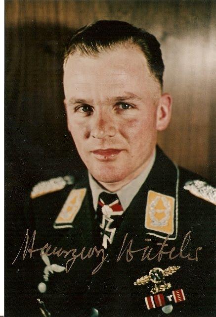 Hansgeorg Bätcher as a Major.