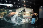 King Tiger located at the Patton Museum of Cavalry and Armor, US.