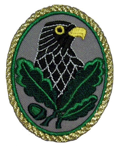 Sniper's Badge (3rd grade – gold trim)