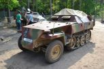 Sd. Kfz. 251 at Militracks Overloon 2012 - Oorlogsmuseum Overloon, Netherlands.