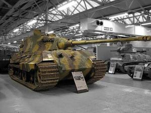 Tiger II preserved at Bovington Tank Museum.