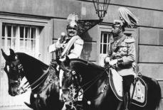 King George V of Great Britain and Wilhelm 2 of Imperial Germany.