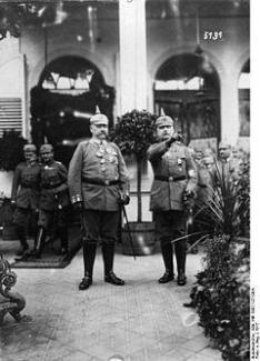 Hindenburg and Ludendorff 1917.