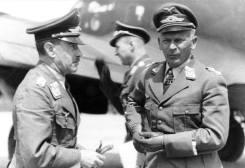 Alexander Löhr and Wolfram von Richthofen, 1942.